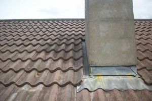 Roof after repair