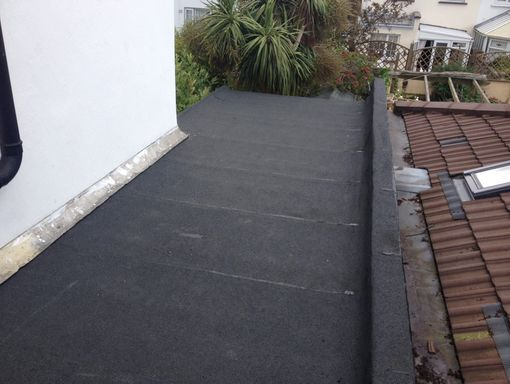 flat roof repaired image